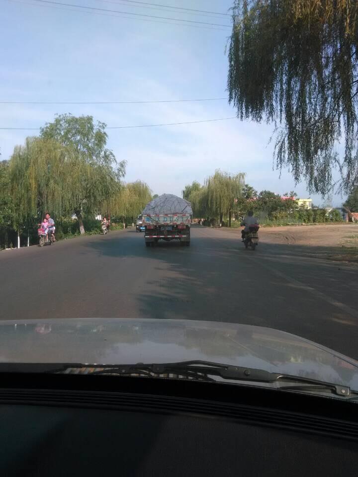开车在路上